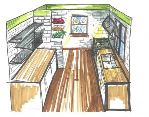 kuchnia projekt