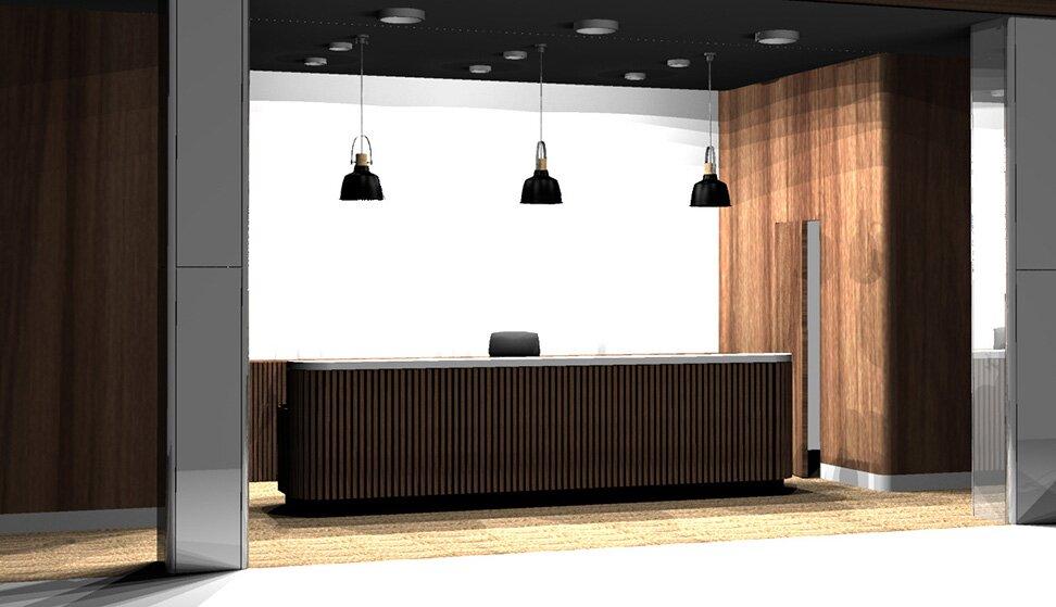 """""""projekt-biurko-mebel-biurowe-drewno-design-recepcja-firma"""""""